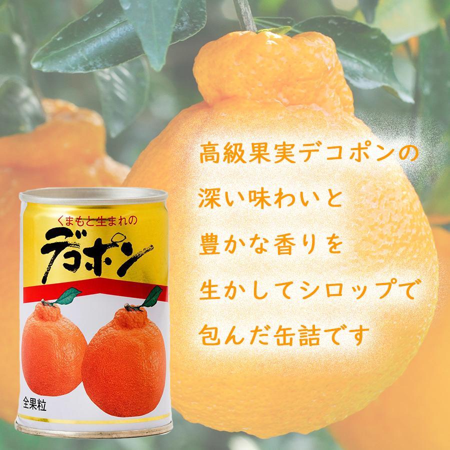 くまもとの果樹園【デコポン・あまなつ缶詰セット】【300g缶詰×6缶入】 ec-kumakaren 02