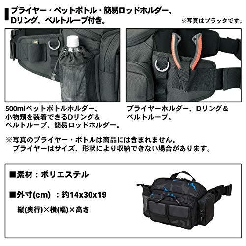 ダイワ(DAIWA) ヒップバッグLT(C) オリーブカモフラージュ|ec-malls|04