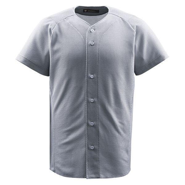 デサント(DESCENTE) ジュニアフルオープンシャツ (野球) JDB1010 シルバー 160