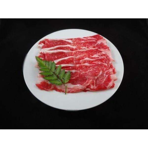 国産牛 牛肉 〔肩ローススライス 1kg〕 精肉 霜降り 赤身肉 〔ホームパーティー 家呑み バーベキュー〕〔〕