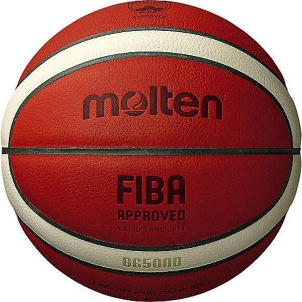 モルテン(Molten) バスケットボール6号球 BG5000 FIBA OFFICIAL GAME BALL 女子用 B6G5000