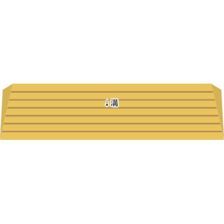 シンエイテクノ タッチスロープ TS-100-25 100cm(幅)×9.5cm(奥行) ×2.5cm(高さ) 100-25 ecare 04