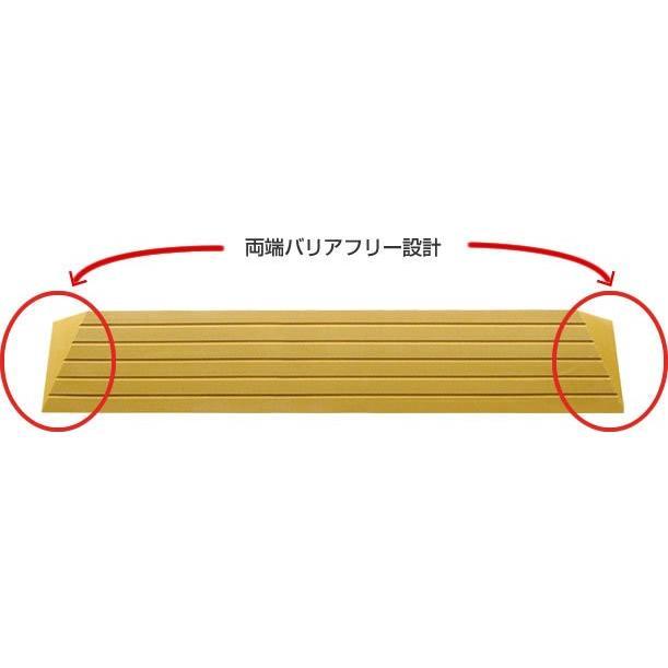 シンエイテクノ タッチスロープ TS-100-25 100cm(幅)×9.5cm(奥行) ×2.5cm(高さ) 100-25 ecare 05