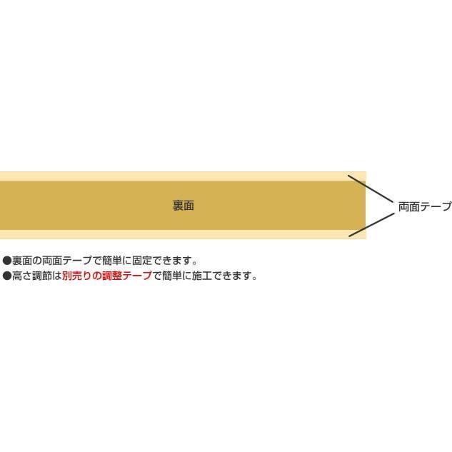 シンエイテクノ タッチスロープ TS-100-25 100cm(幅)×9.5cm(奥行) ×2.5cm(高さ) 100-25 ecare 07