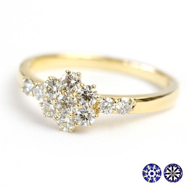 【正規品質保証】 リング レディース 指輪 レディース H&C ダイヤモンド H&C シャンパンカラー ブラウンダイヤ 0.5ct SIクラス品質 K18 SIクラス品質, 【好評にて期間延長】:ffb69acd --- airmodconsu.dominiotemporario.com