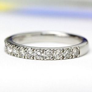 公式 リング レディース ダイヤモンド 指輪 プラチナ エタニティリング 0.5カラット, キッチンガーデン c3110642