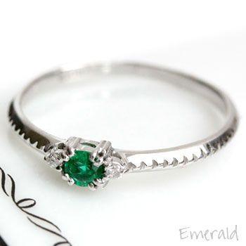 【人気商品】 リング レディース 指輪 エメラルド × ダイヤモンド K18, ブランドショップ AXES 894689bd