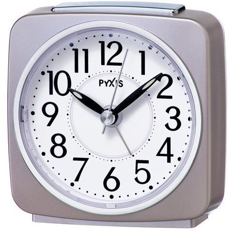 セイコー 最安値 NR440P 訳あり 薄ピンクパール PYXIS 目覚まし時計