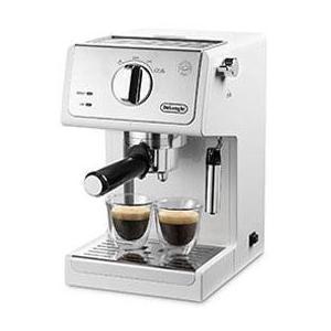 デロンギ 爆売りセール開催中 ECP3220J-W トゥルー 低価格化 コーヒーメーカー アクティブ ホワイト