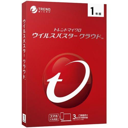 トレンドマイクロ ウイルスバスター クラウド ストアー 1年版 2020年9月発売 割引