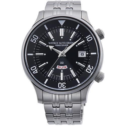 【長期保証付】オリエント RN-AA0D01B(ブラック) REVIVAL(リバイバル) 自動巻き(手巻き付き) 腕時計(メンズ)