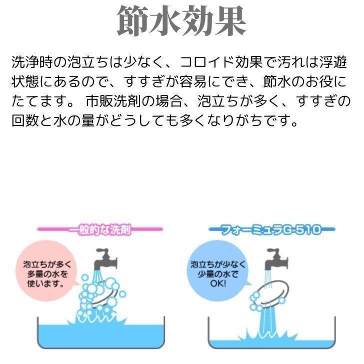フォーミュラG-510EF 5ガロンボトル|人と地球環境に優しい多目的洗剤 油汚れ 食器洗い コンロ レンジ 洗濯 洗面 浴槽 トイレ カーペット 畳 ガラス 鏡 洗車|ececo|07