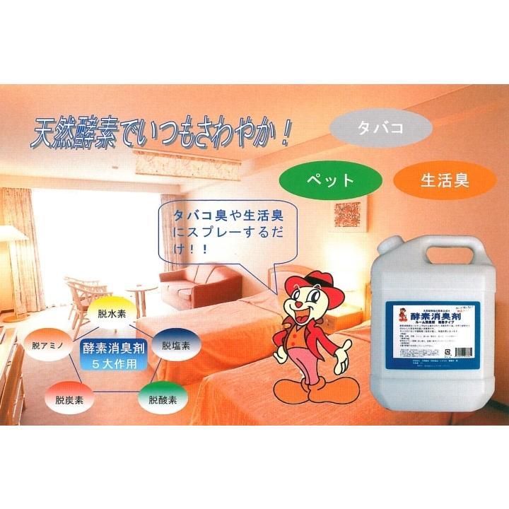 酵素消臭剤 300mlスプレー|パイナップル酵素・空間用消臭剤・無香タイプ 部屋 台所 浴室 トイレ 排水口 生ごみ ペット タバコ|ececo|02