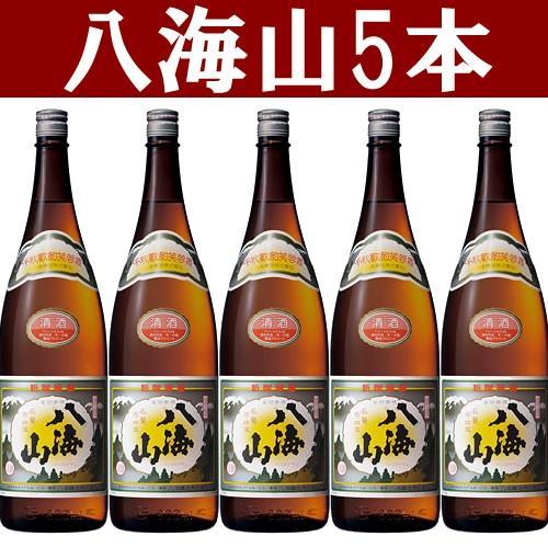 日本酒 八海山 普通酒1800ml 5本セット