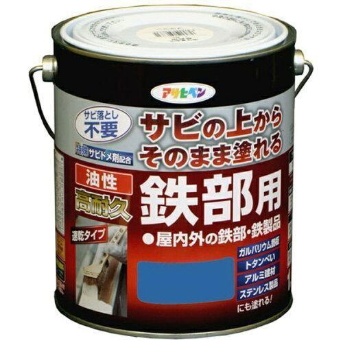 アサヒペン 油性高耐久鉄部用1.6L空色【入数:6】