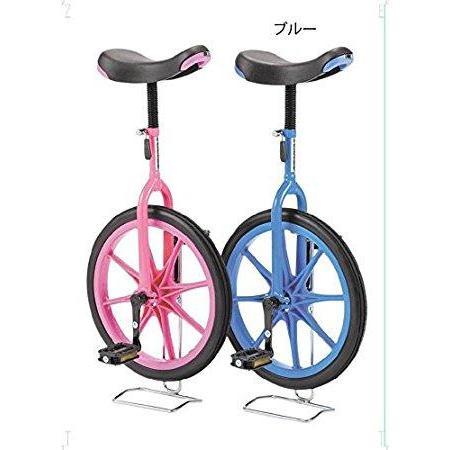 EVERNEW 【EKD137】一輪車(ノーパンク)18 色:青