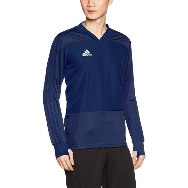 adidas adidas SOCC C18 トレーニングトップ1 品番:DJV18 カラー:ダークブルー/ホワイト(CG0386) サイズ:J/O