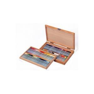 サクラクレパス クレパス スペシャリスト85色(88本入り)木箱入り ESP88 876368 (8080bg)