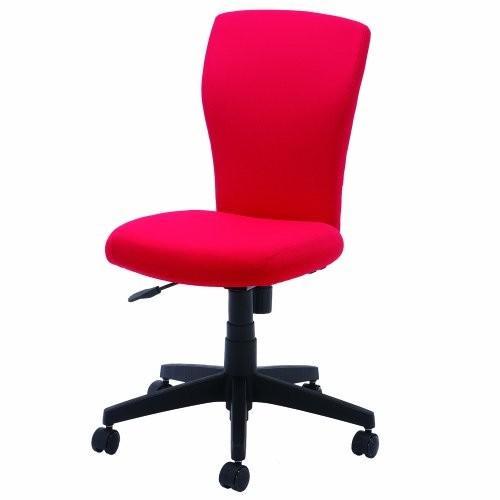 ナカバヤシ 長時間座っても快適なすわり心地の良いソフトフィットチェア レッド レッド (RZC-605R)