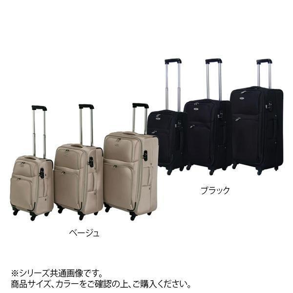 スーツケースファクトリー TOMAX ソフトキャリー 中型 CT-052 ベージュ (1414714)