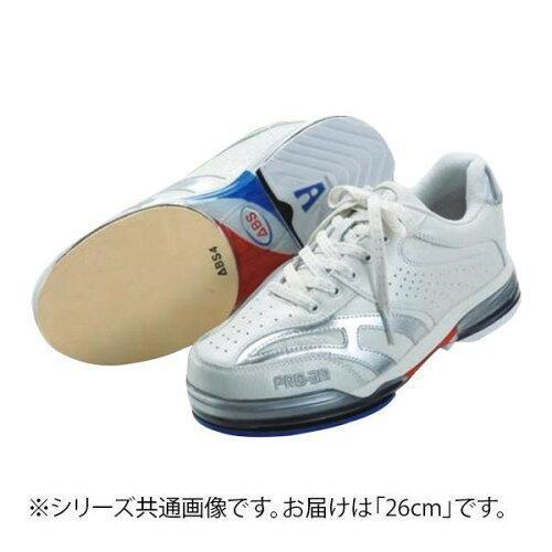 都内で ABS CLASSIC ボウリングシューズ 26cm ABS CLASSIC 左右兼用 ホワイト・シルバー 左右兼用 26cm (1485084), 日本サプリメントフーズ:f6063ab7 --- airmodconsu.dominiotemporario.com