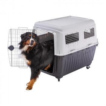 ファープラスト アトラス 80 犬·猫用キャリー グレー 73060021 (1566848)
