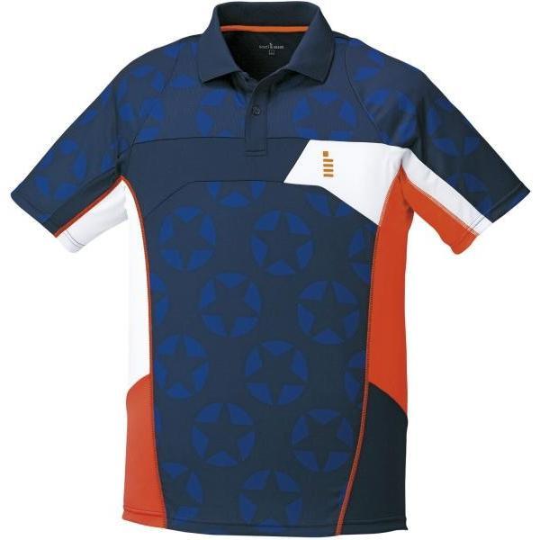 ゴーセン ホシガラゲームシャツ (T1712) [色 : ネイビー] [サイズ : M]