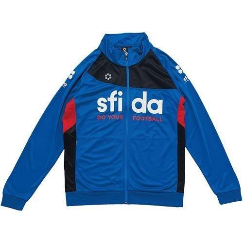 SFIDA(スフィーダ) JRベーシックジャージジャケット (SABP17JR) [色 : 青] [サイズ : 160]