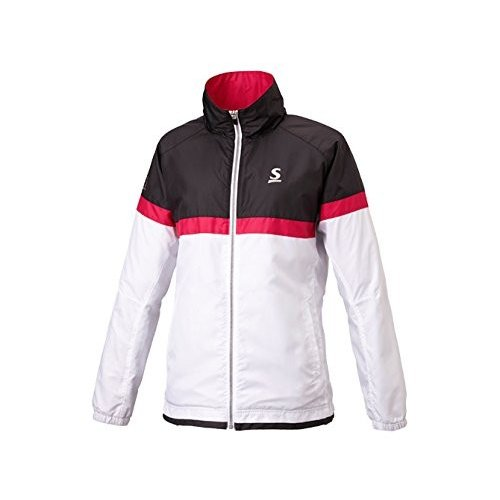 ダンロップ テニスウェア レディース ウインドジャケット(SDW4761W) [色 : ホワイト] [サイズ : M]