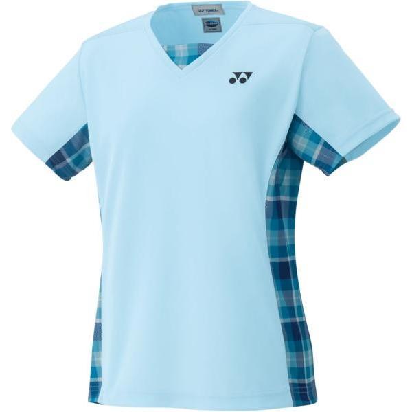 YONEX ウィメンズシャツ(スリムタイプ) (20396) [色 : アクアブルー] [サイズ : L]
