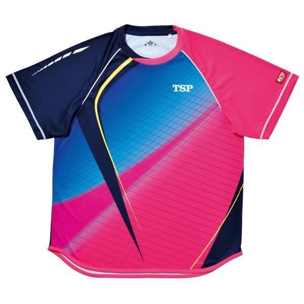 ヤマト卓球(TSP) アクセレートシャツ (031421) [色 : ピンク] [サイズ : SS]