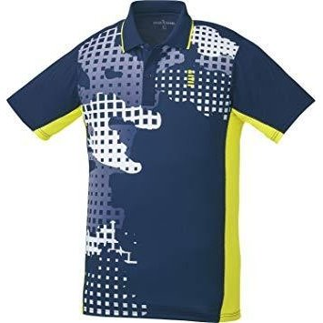 ゴーセン T1802_ゲームシャツ (T1802) [色 : ネイビー] [サイズ : LL]