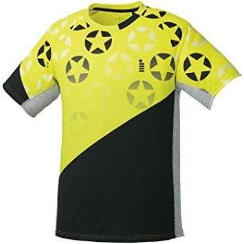 ゴーセン T1814_ホシガラゲームシャツ (T1814) [色 : ライムイエロー] [サイズ : LL]