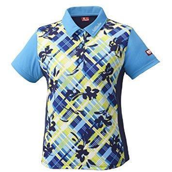 ニッタク(Nittaku) フラチェックスシャツ (NW2181) [色 : ブルー] [サイズ : L]