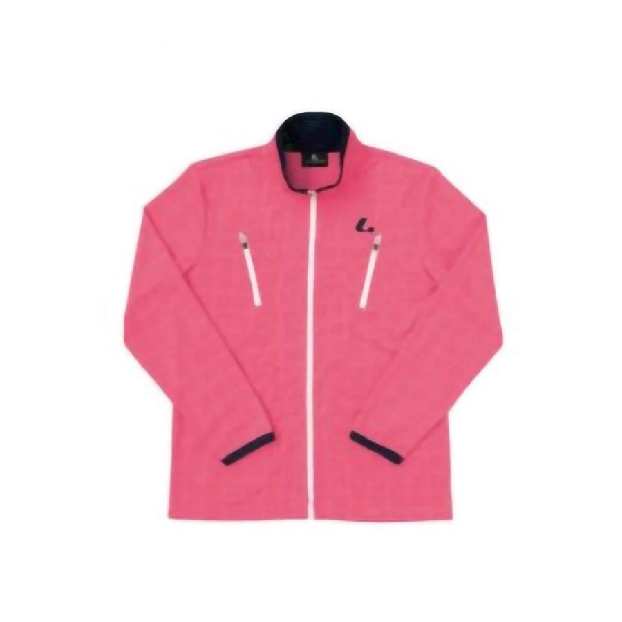 Lucent(ルーセント) レディース_ウォームアップシャツ_PI (XLW6371) [色 : ピンク] [サイズ : S]