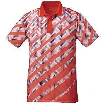 ゴーセン T1816_ゲームシャツ (T1816) [色 : カーマインレッド] [サイズ : LL]