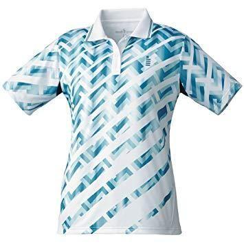 ゴーセン T1815_レディースゲームシャツ (T1815) [色 : ホワイト] [サイズ : LL]