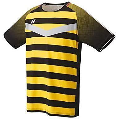 ヨネックス メンズゲームシャツ (10274) [色 : ブラック/イエロー] [サイズ : M]