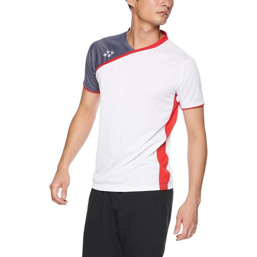 ヨネックス メンズゲームシャツ(フィットスタイル) 品番:10260 カラー:ホワイト(011) サイズ:M