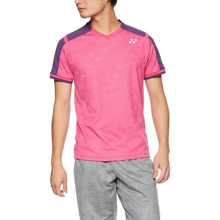 ヨネックス ユニゲームシャツ(フィットスタイル) 品番:10271 カラー:ベリーピンク(654) サイズ:L