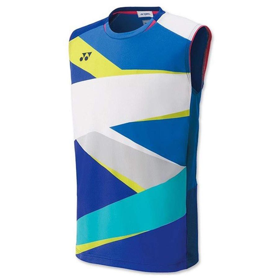 ヨネックス メンズゲームシャツ(ノースリーブ) (10310) [色 : ブラストブルー] [サイズ : M]
