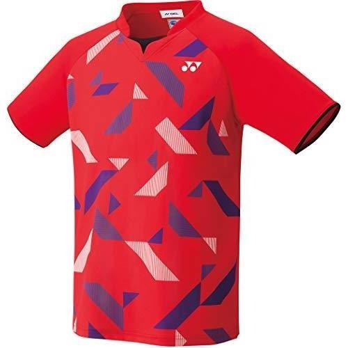 ヨネックス ユニゲームシャツ(フィットスタイル) (10315) [色 : サンセットレッド] [サイズ : XO]