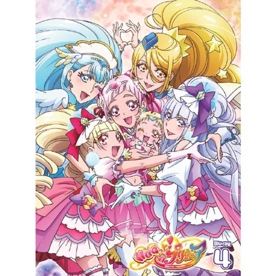 マーベラス Hugっと プリキュア Vol 4 Blu Ray アニメーション