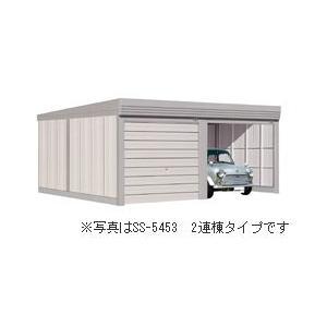タクボ ガレージ ベルフォーマ オーバースライド扉 多雪地用通常型 SM-S10260 3連棟