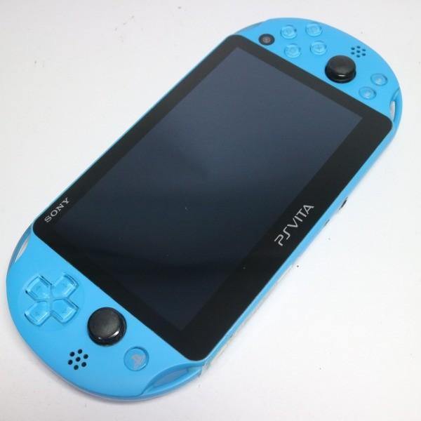 美品 PCH-2000 PS VITA アクアブルー 中古本体 安心保証 即日発送 game SONY PlayStation 本体