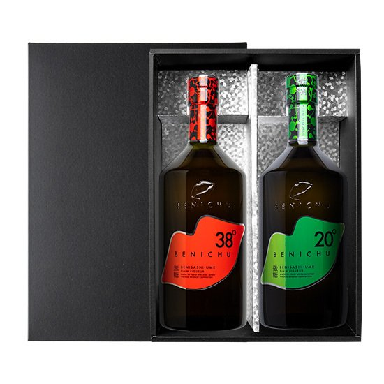 BENICHU38°とBENICHU20°の2本セット [750ml] 梅酒 ギフト 贈り物 甘くない梅酒 大人ギフト プレゼント おすすめ ecofarmmikata