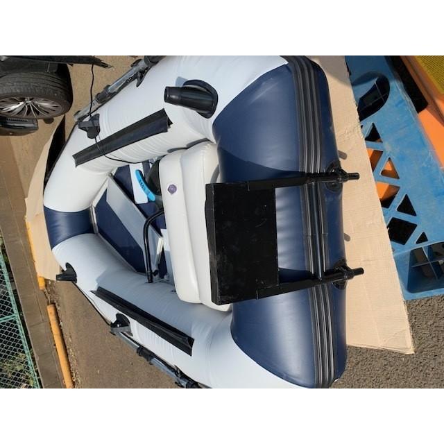ゴムボート 釣りボート PVC製 モーターマウント付 リペアキット 収納袋付 2人乗り インフレータブル  船外機3馬力まで対応 新品 ecofuture8 08