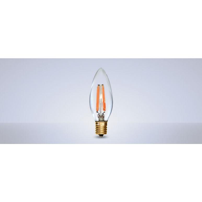 オンリーワン フィラメントLED電球 Siphon サイフォン シャンデリア 25W相当 全方向型 LDF28A/6P 6個セット