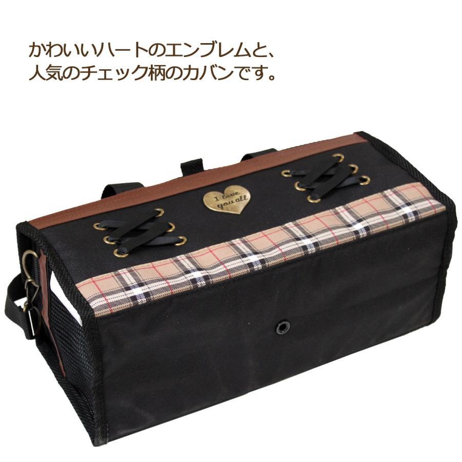 絵の具バッグ レースアップ 小学生女の子向けかわいい画材バッグ|ecolekyouzai|02