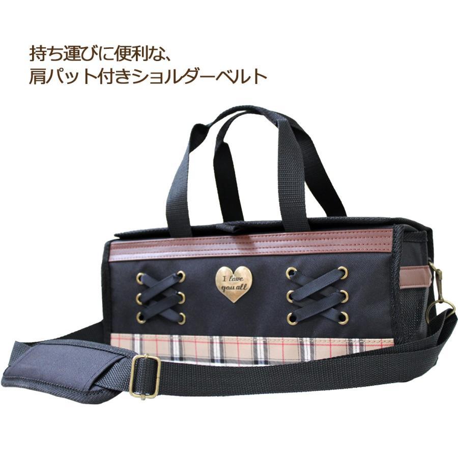 絵の具バッグ レースアップ 小学生女の子向けかわいい画材バッグ|ecolekyouzai|05